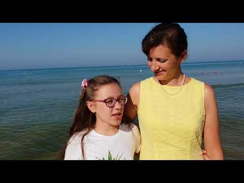 Отзыв пансионат Одиссея.Состояние моря и уборка пляжа. 28.06.2018