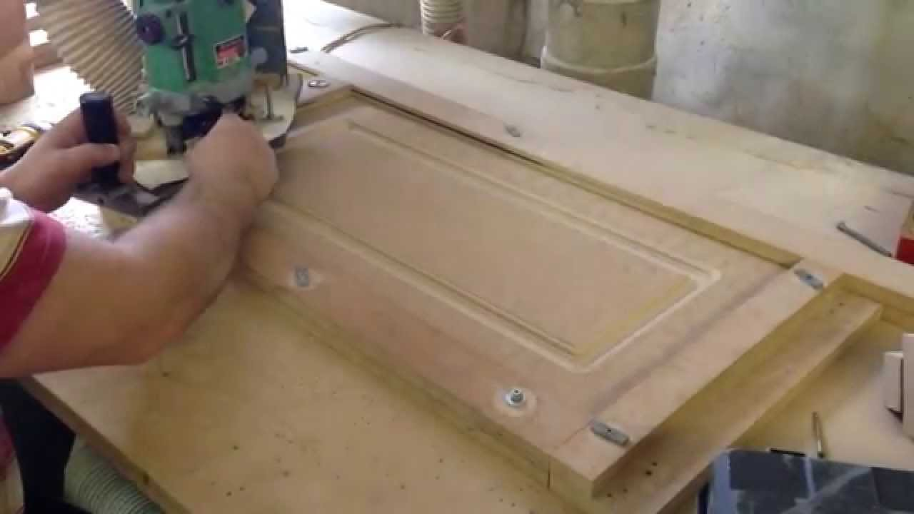 Making MDF doors - YouTube & Feb 5 2015. Making MDF doors - YouTube Pezcame.Com