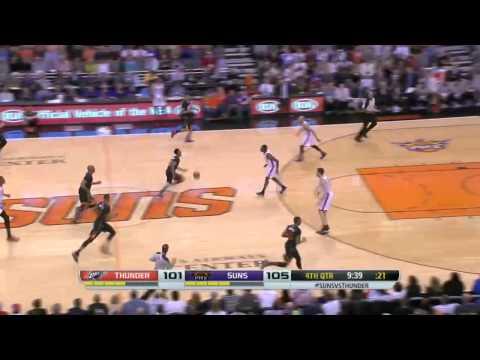 Oklahoma City Thunder vs Phoenix Suns | March 6, 2014 | NBA 2013-14 Season