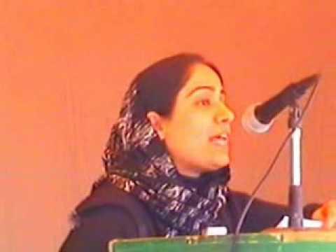Malalai Joya speaks to people  in Farah (Part 1)