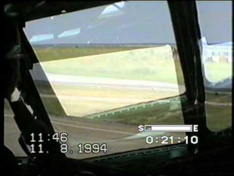 АН-22 Полёт и посадка
