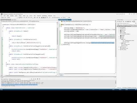 DevExpress ASP.NET MVC: HTML Editor