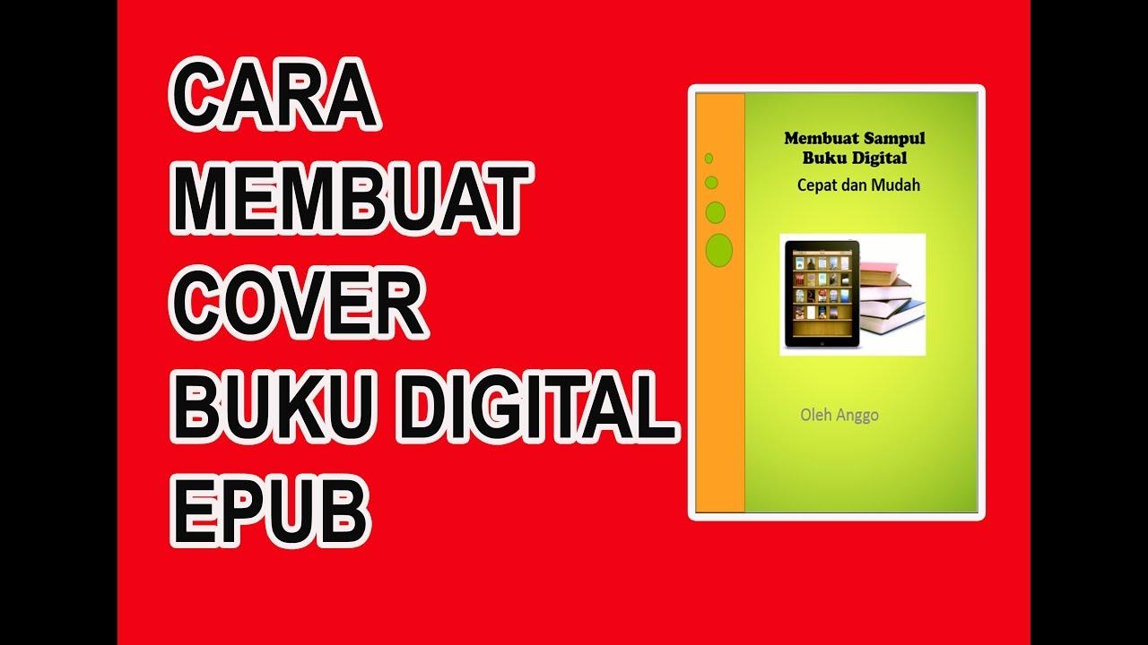 Cara membuat sampul/Cover buku digital Epub dengan power point - YouTube
