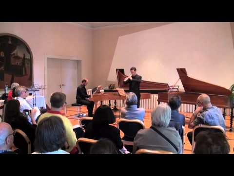 Concert Recorder Masterclass Maurice Steger in 2011
