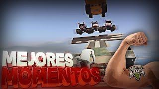 MEJORES MOMENTOS - FARGAN GALGO Y EL CHICO PROTEINAS - DEATH RUN GTA V