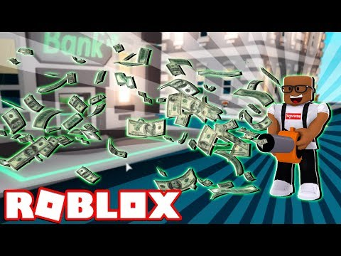 STEALING MONEY IN ROBLOX (Roblox Cash Grab Simulator)