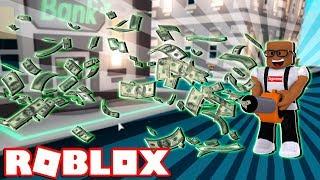 STEALING MONEY IN ROBLOX (Roblox Cash Grab Simulator)