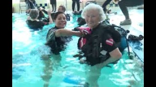 Seniors Going Scuba Diving with Diveheart (WGN 9)