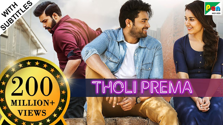 tholi prema hd  new romantic hindi dubbed full movie  varun tej raashi khanna