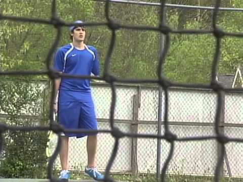 Letcher Co. Central Tennis Player Jake Raleigh