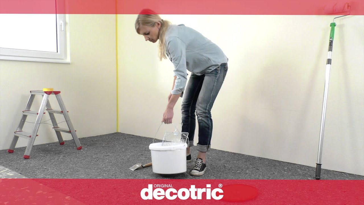 decotric® – glatte wand - youtube