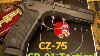 cz 75 sp 01 tactical 9mm pistol