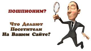 Как проследить что делают посетители на вашем сайте? Вебвизор