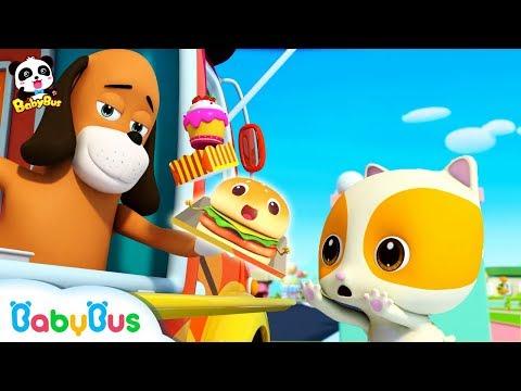 Baby Kitten&39;s Ice Cream Truck  Breakfast Song Food Song  Nursery Rhymes  Kids Songs  BabyBus