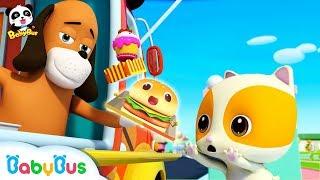 Baby Kitten's Ice Cream Truck   Breakfast Song, Food Song   Nursery Rhymes   Kids Songs   BabyBus