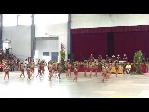 2016 Hilo Tahiti Fete - To'a Here Tahitian Revue - Tamahine