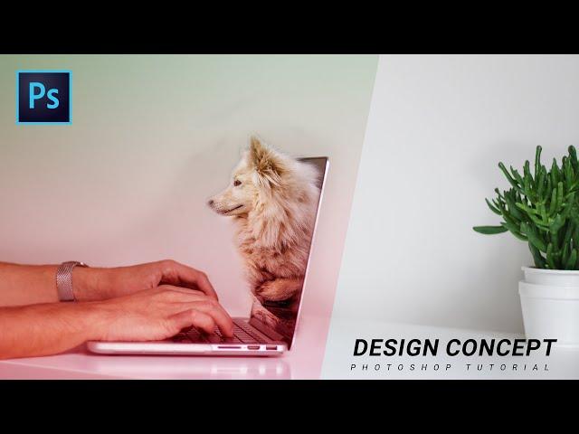 Design Concept In Photoshop CC 2019 Tutorial