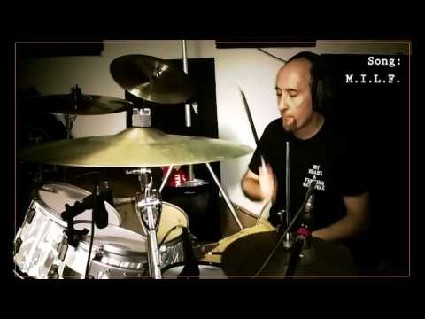 Burning Rome - Making the MILF - session 3/11 (drums recording)