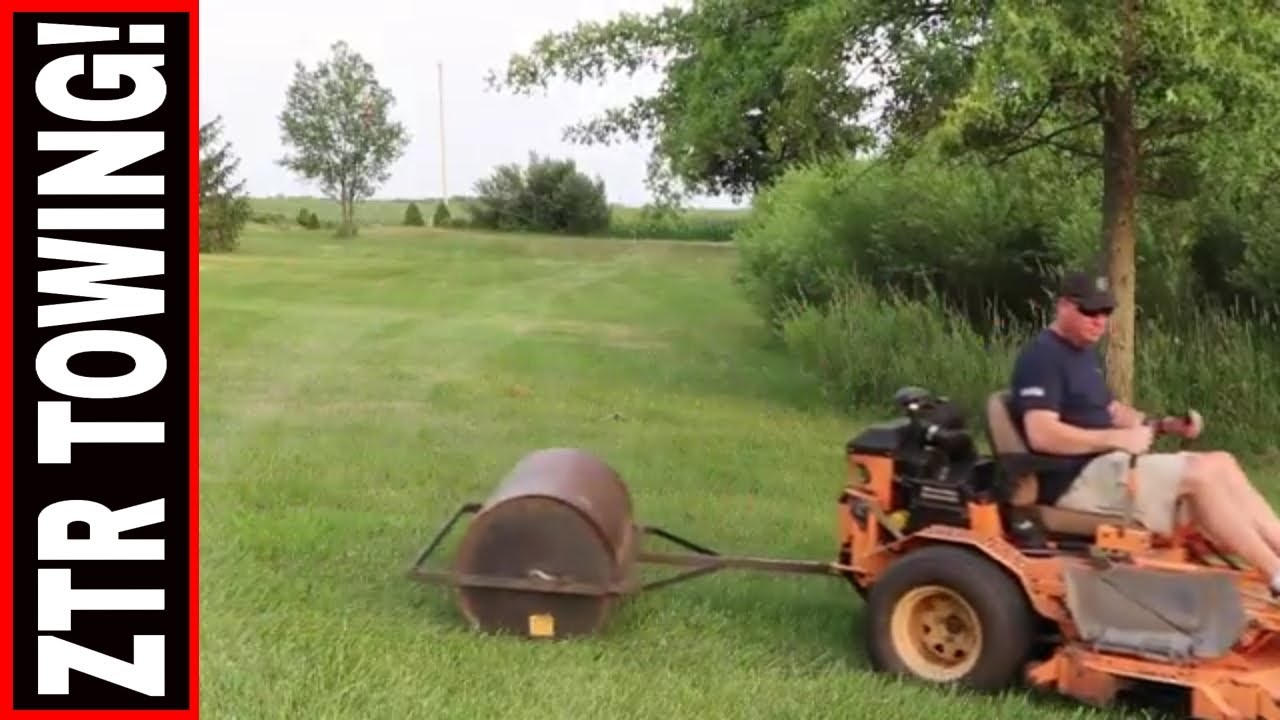 Is It Possible To Tow With Your Zero Turn Mower Youtube