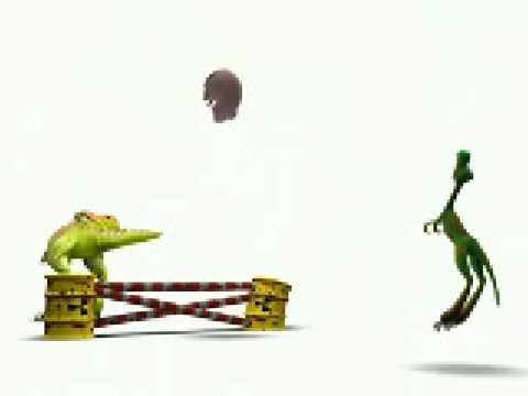 khủng long chơi tennis
