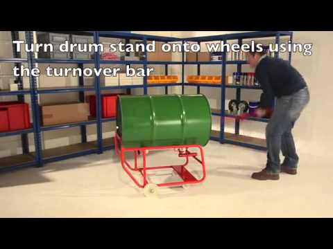 Manual Handling Solutions, Drum Handling Equipment, Drum Handling, DS19 Drum Stand,