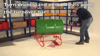 Manual Handling Solutions, Drum Handling Equipment, Drum Handling, DS19 Drum Stand,