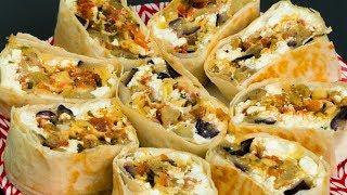 Никакого мяса! Идеальная начинка для лаваша - самый удачный рецепт! | Appetitno.TV