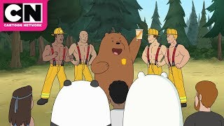 We Bare Bears | Grizz the Firefighter | Cartoon Network