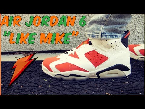 f9fecc5d3c3c19 Air Jordan 6  quot Like Mike Gatorade quot  W On-Feet Review