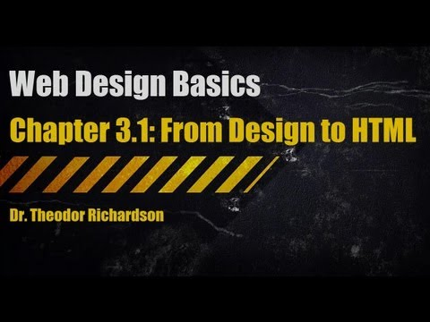Web Design Basics: From Design to HTML