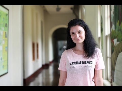 Ksenia Savitskaya (Russia) Studying at National Cheng Kung University