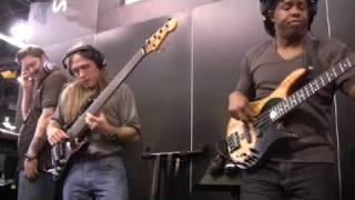 PreSonus NAMM 09- Victor Wooten, Steve Bailey David