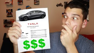 How much I pay for my 2020 Tesla Model 3 (FULL FINANCING BREAKDOWN)