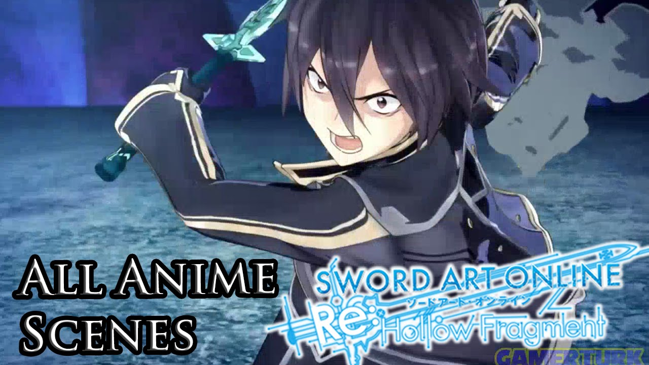 Sword Art Online Re: Hollow Fragment – All Anime Scenes [HD]