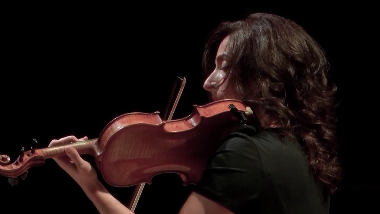 Benoît Menut : « Canto per Matteo », pour violon solo,
