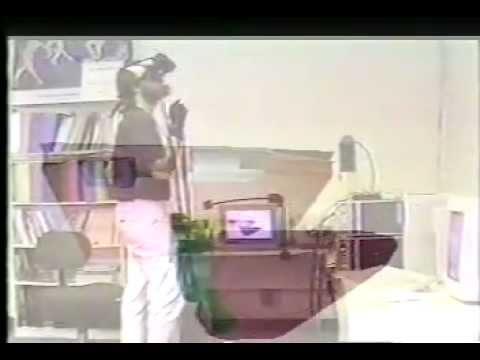 Brain in Virtual Reality demo 1989