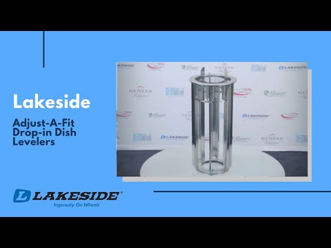 Lakeside - Adjust-A-Fit™ Drop-in Dish Levelers