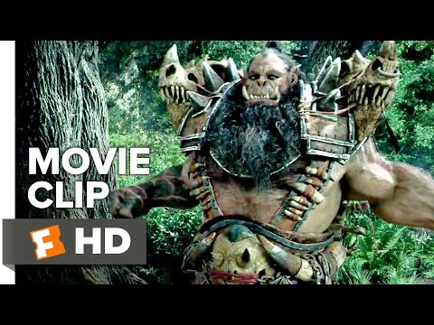 Warcraft Movie CLIP - Attacked by Orcs (2016) - Travis Fimme