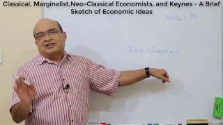 Classical to Neo-Classical Economists