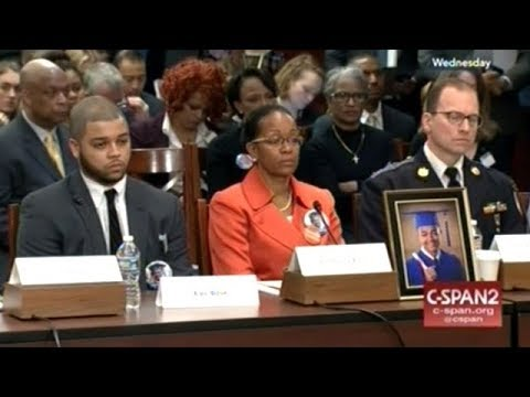 Senate Democrats Meet With People Who've Lost Family To Gun Violence
