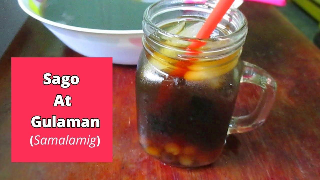Sago T Gulaman Drink