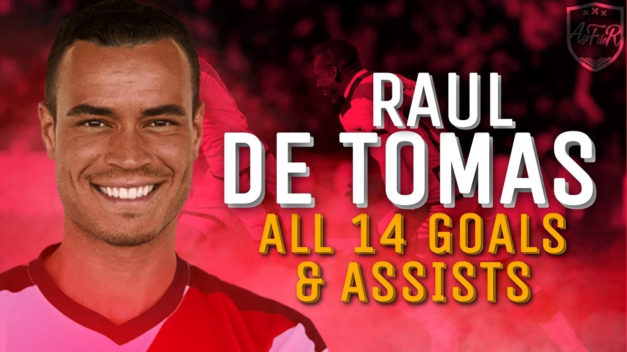 Raul De Tomas All 14 Goals & Assists for Rayo Vallecano 2018/19 so far (HD)