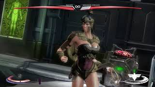 Injustice: Gods Among Us Ultimate Edition Raven vs Wonder Woman