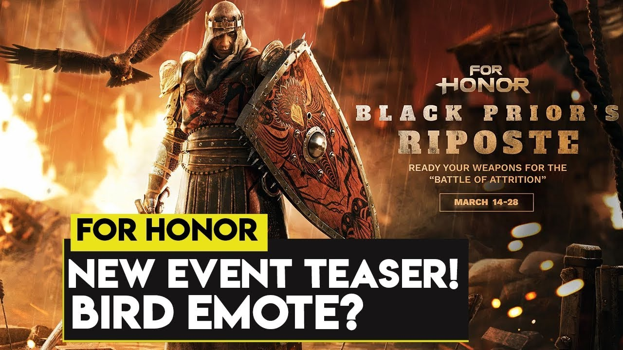 For Honor: NEW EVENT TEASER! NEW BIRD OUTFITS?