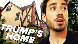 We Spent The Night In Trump's Childhood Home