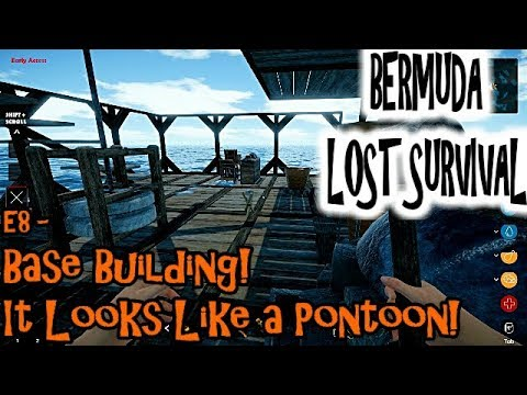 Bermuda Lost Survival - E7 - Base Building....I Am So Bad At This!