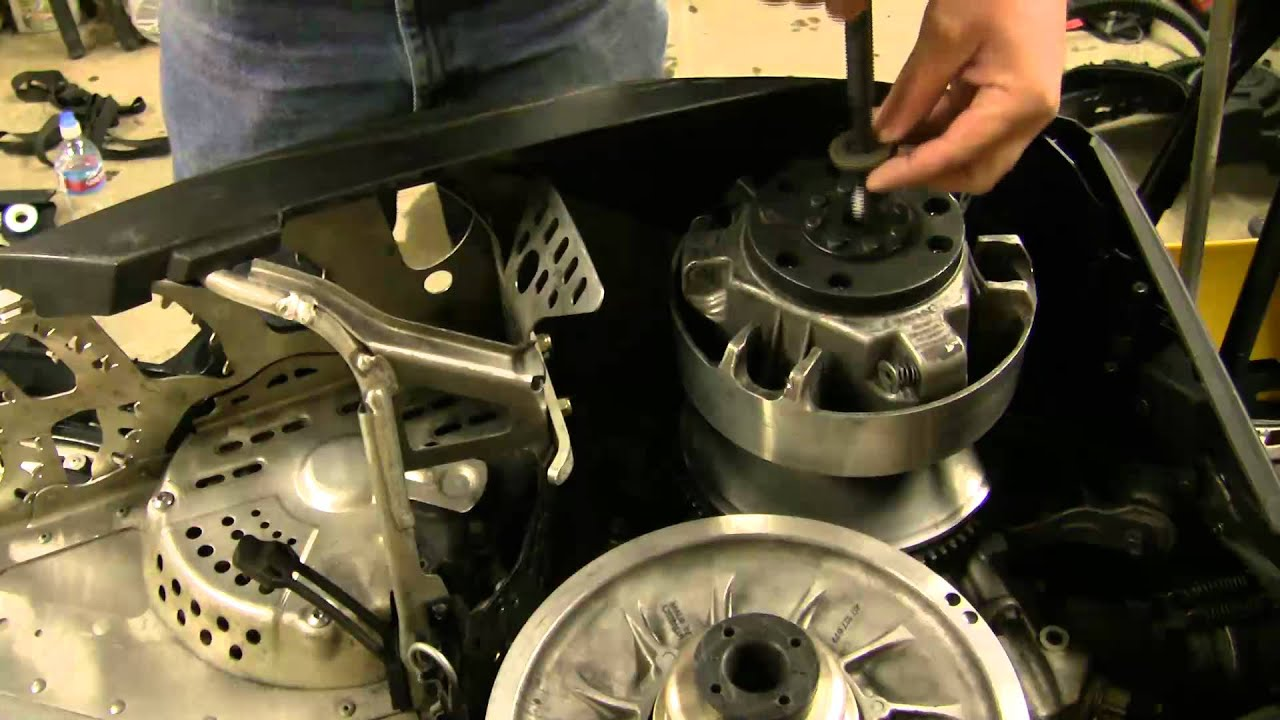1996 Polaris Sportsman 500 Stator Wiring Diagram Skidoo Clutch Removal Water Trick Youtube