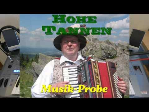 Hohe Tannen - Musik-Probe mit Keyboard (Tyros 5) und Gesang im Januar 2014