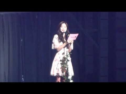 160709 Apink Pink Summer in Tokyo @ Naeun Reading Fan letter
