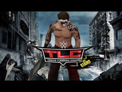 YWE TLC 2014 Match Card